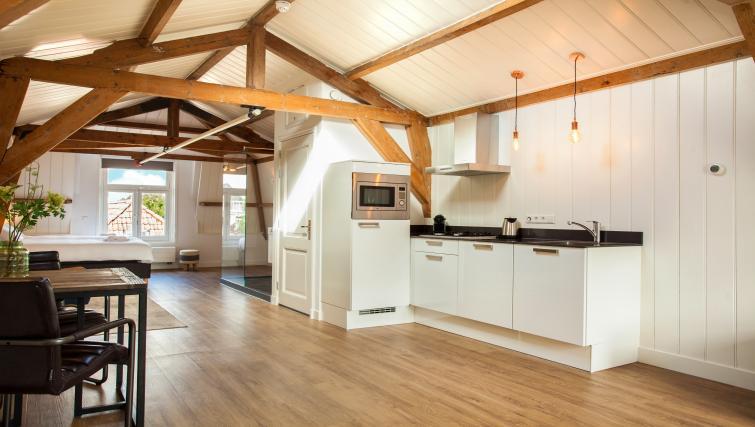 Kitchen at the Stayci Royal Palace Apartments - Citybase Apartments