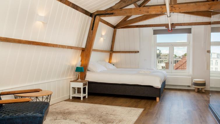 Big bed at the Stayci Royal Palace Apartments - Citybase Apartments