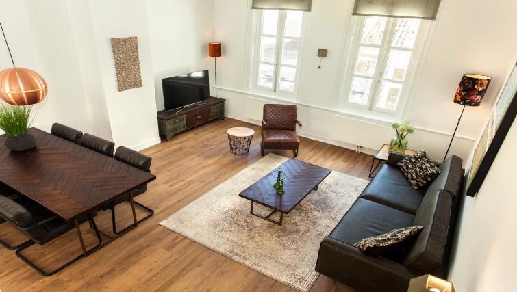 Lounge at the Stayci Royal Palace Apartments - Citybase Apartments