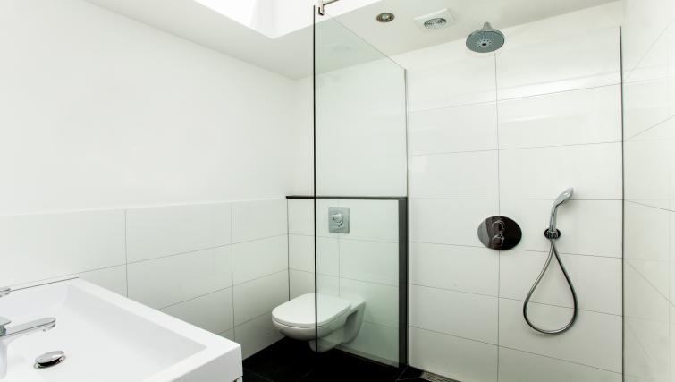 Toilet at the Stayci Royal Palace Apartments - Citybase Apartments