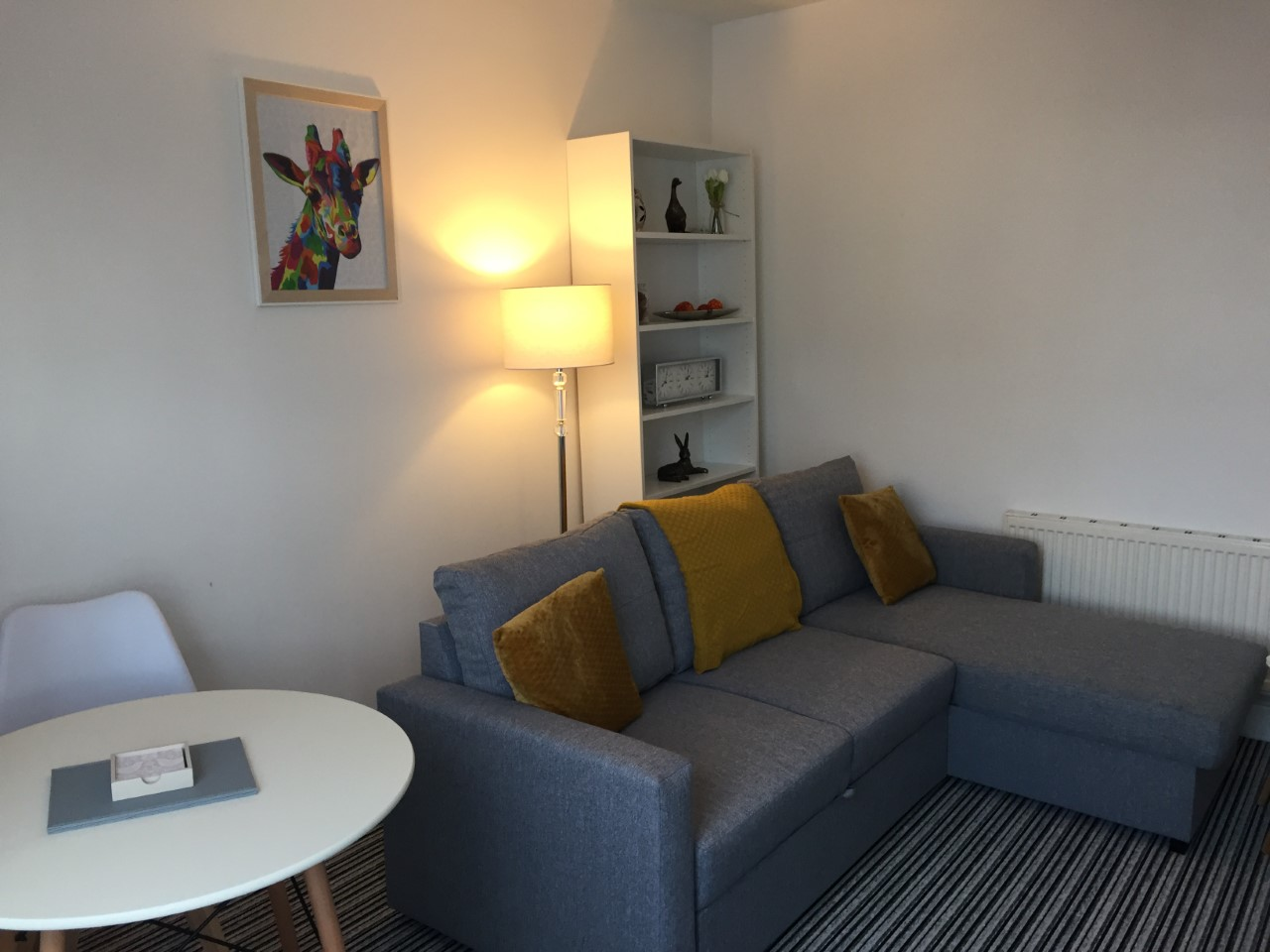 Living area at Sycamore House Lincoln, Centre, Lincoln - Citybase Apartments