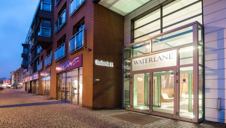 Entrance at the Waterlane Residence Apartments - Citybase Apartments