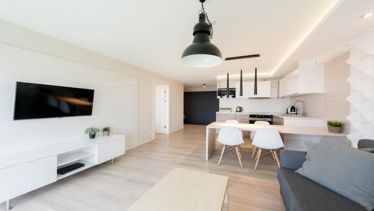 Living room at the Waterlane Residence Apartments - Citybase Apartments