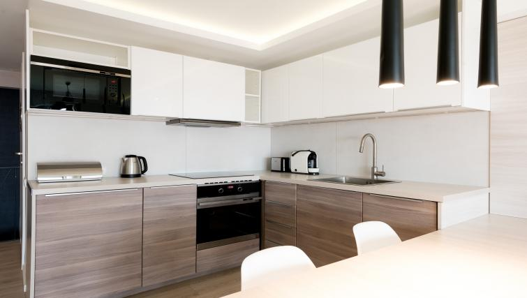 Kitchen at the Waterlane Residence Apartments - Citybase Apartments