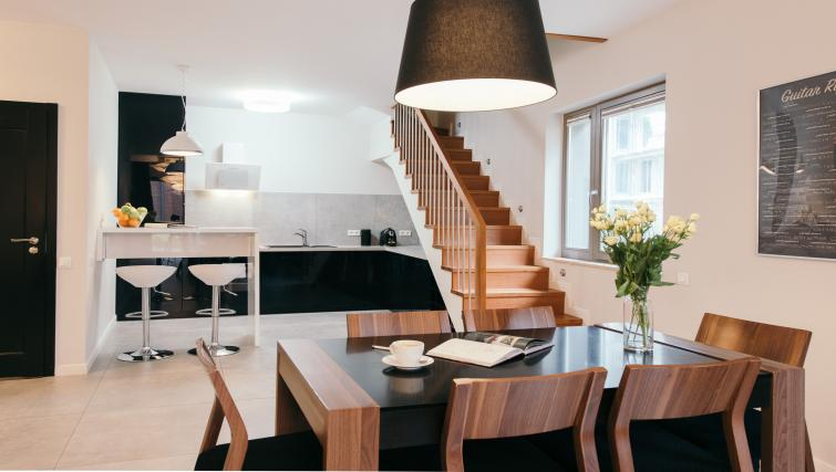 Dining area at the Waterlane Residence Apartments - Citybase Apartments