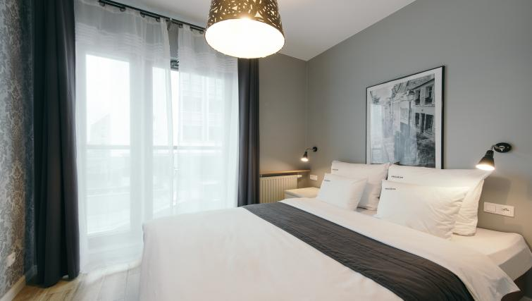 Bedroom at the Waterlane Residence Apartments - Citybase Apartments