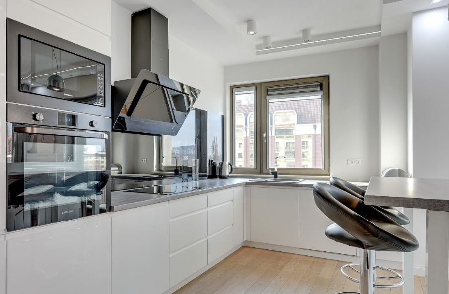 Oven at Waterlane Residence Apartments, Srodmiescie, Gdansk - Citybase Apartments