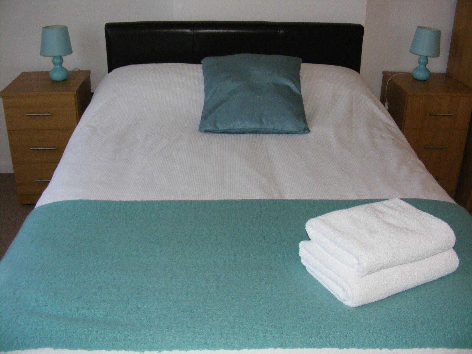 Bed at Baystays Apartments, Centre, Swansea - Citybase Apartments