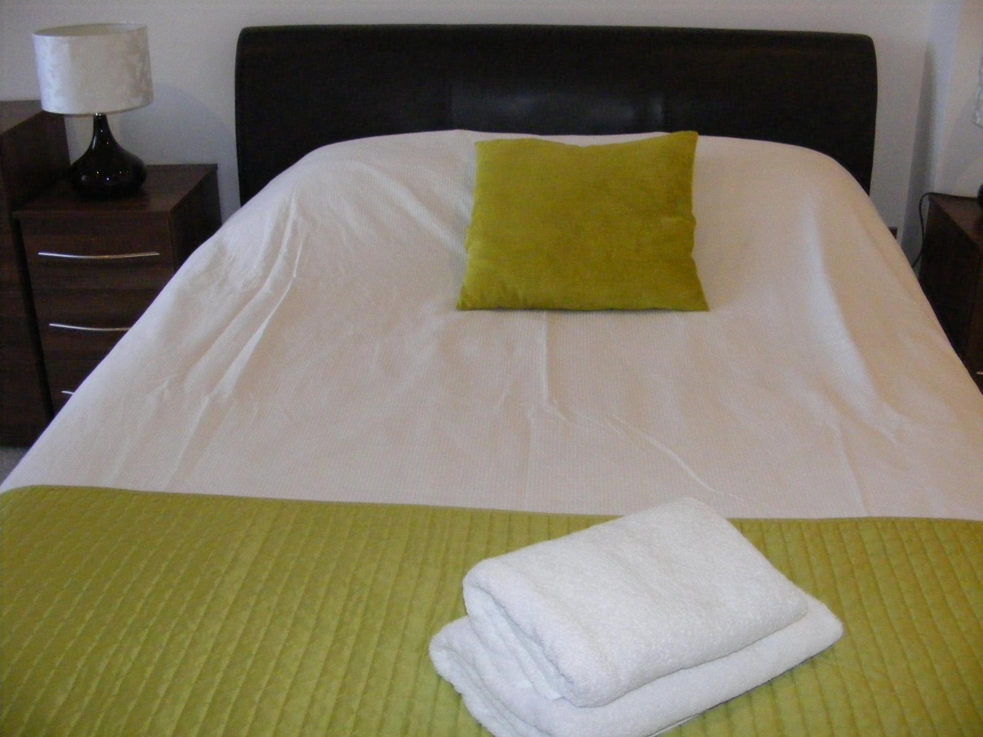 Towels at Baystays Apartments, Centre, Swansea - Citybase Apartments