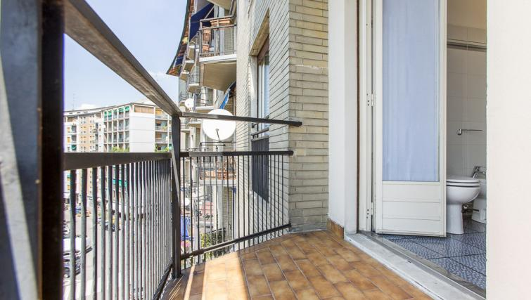 Balcony at the Bande Nere Apartment - Citybase Apartments