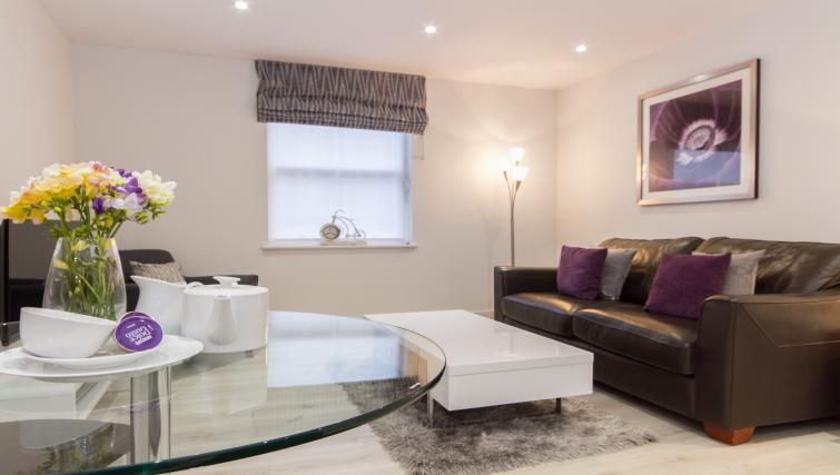 Sofa at the Midsummer Mews - Citybase Apartments