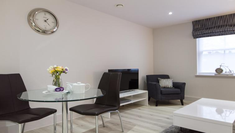 Living area at the Midsummer Mews - Citybase Apartments