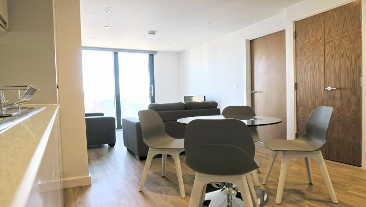 Dining table at the Gateway Apartments Northern Quarter - Citybase Apartments