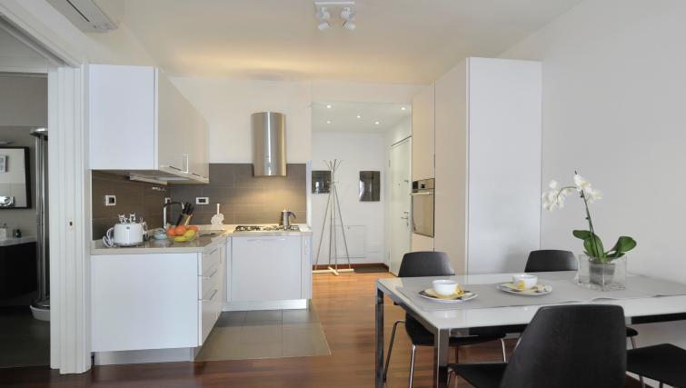 Equipped kitchen at Gramsci Apartment - Citybase Apartments