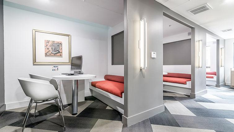 Work area at 5600 Wilshire Apartments - Citybase Apartments