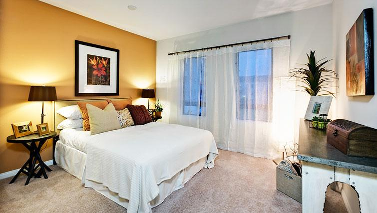 Bedroom at 5600 Wilshire Apartments - Citybase Apartments