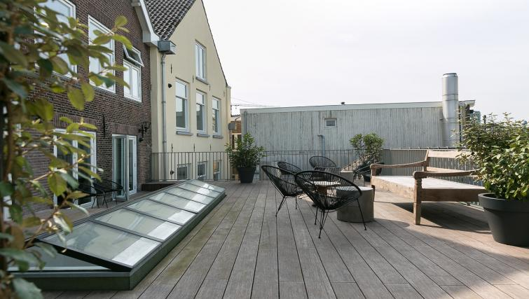 Outside area at Oudegracht 152E Apartments - Citybase Apartments