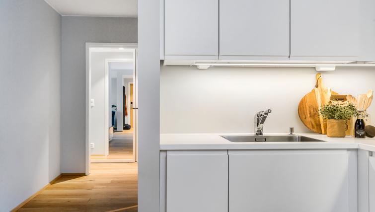 Kitchen at Huitfeldtsgate 19 Apartments - Citybase Apartments