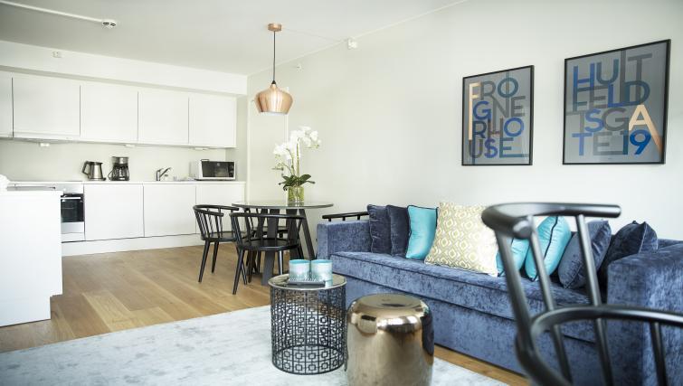 Sofa at Huitfeldtsgate 19 Apartments - Citybase Apartments