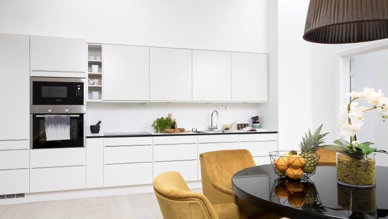 Kitchen at Colbjørnsens Gate 4 Apartments - Citybase Apartments
