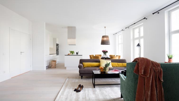 Lounge at Colbjørnsens Gate 4 Apartments - Citybase Apartments