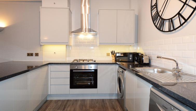 Kitchen at Dunara Suites - Citybase Apartments