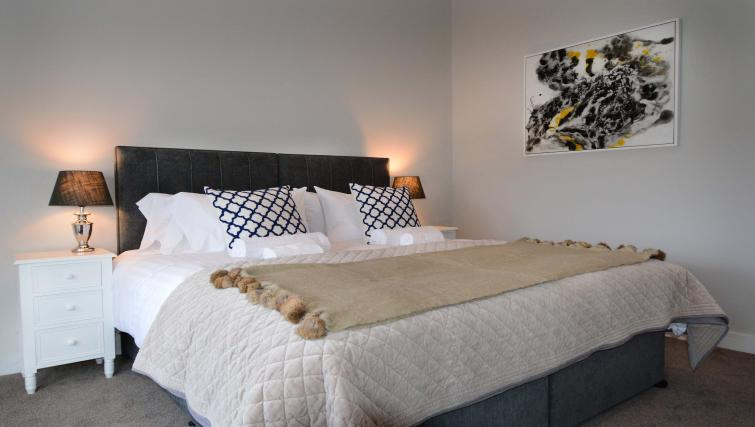 Bedroom at Dunara Suites - Citybase Apartments