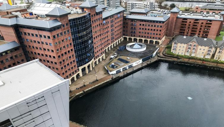 View at IncityNow Media City Penthouse - Citybase Apartments