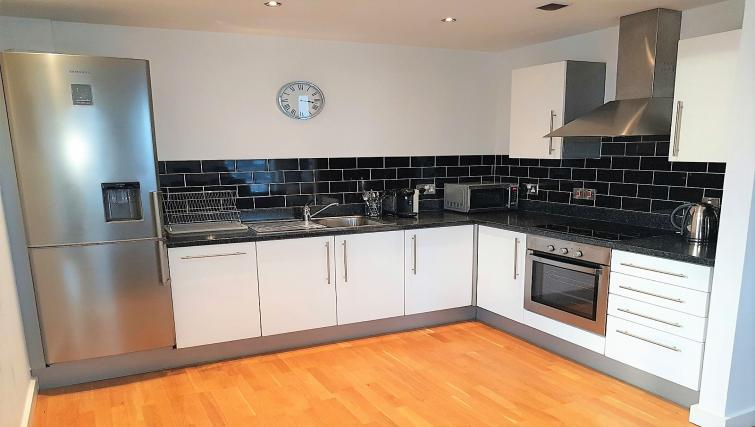 Kitchen at IncityNow Media City Penthouse - Citybase Apartments