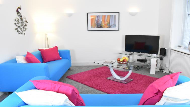 Living area at Montpellier Villas Apartment - Citybase Apartments