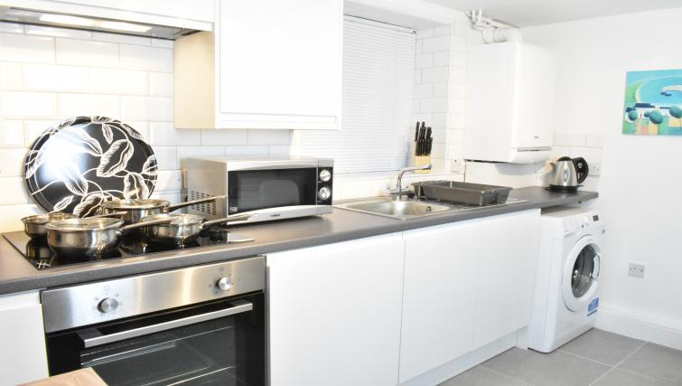 Kitchen at Montpellier Villas Apartment - Citybase Apartments