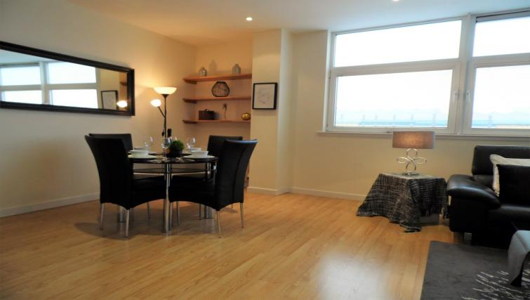 Dining room at the Harbour View Apartment - Citybase Apartments