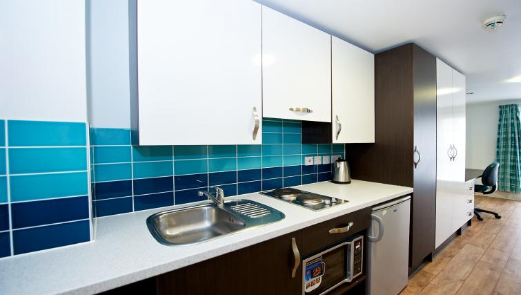 Kitchen at the CityLiveIn Summer Apartments - Citybase Apartments