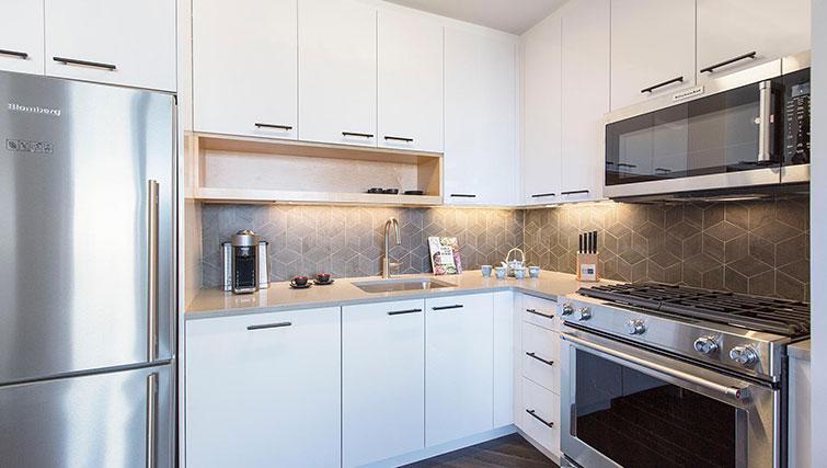 Kitchen at East Houston Street 250 - Citybase Apartments
