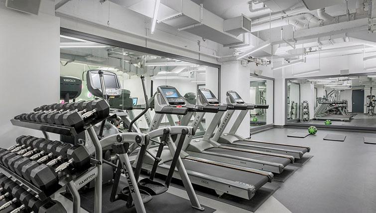 Gym at East Houston Street 250 - Citybase Apartments