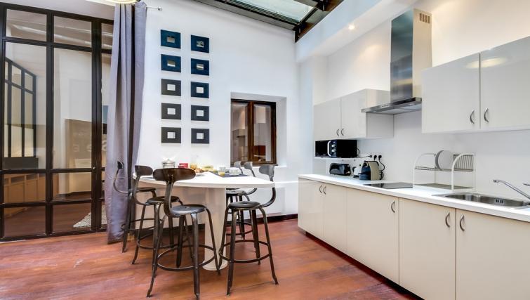 Kitchen at the Artois Apartments - Citybase Apartments