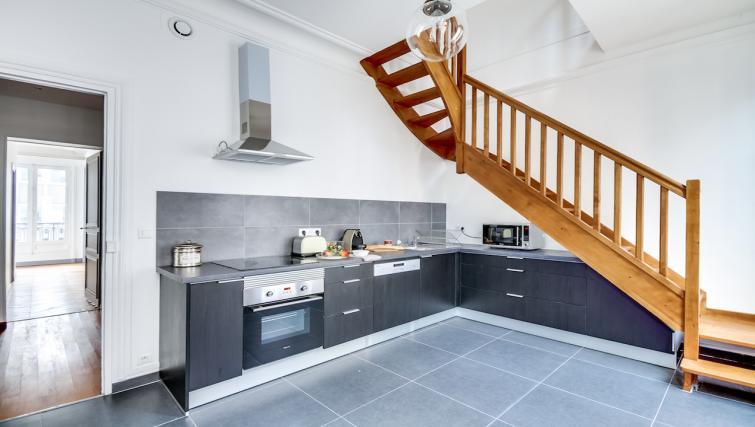 Kitchen at the Ponthieu Apartments - Citybase Apartments