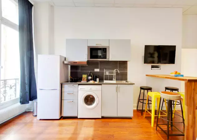 Washer at Ponthieu Apartments, 8th Arr, Paris - Citybase Apartments