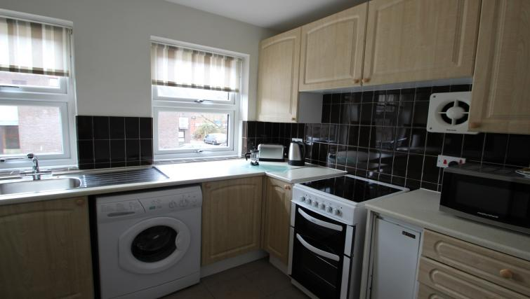 Kitchen at the Chariotts Place - Citybase Apartments