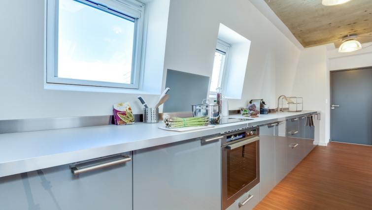 Kitchen at the Rue de Milan Apartments - Citybase Apartments