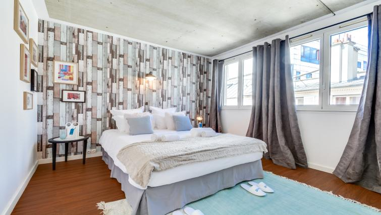 Bedroom at the Rue de Milan Apartments - Citybase Apartments