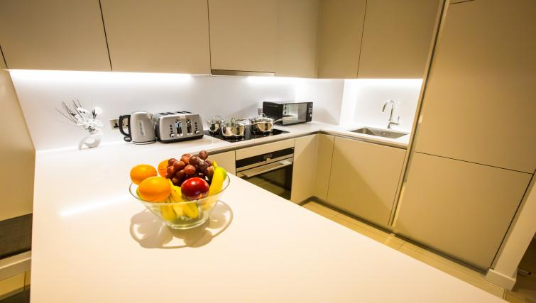 Kitchen at GIGLI Apartments Wembley - Citybase Apartments