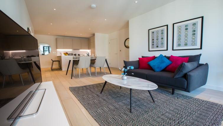 Living space at GIGLI Apartments Wembley - Citybase Apartments