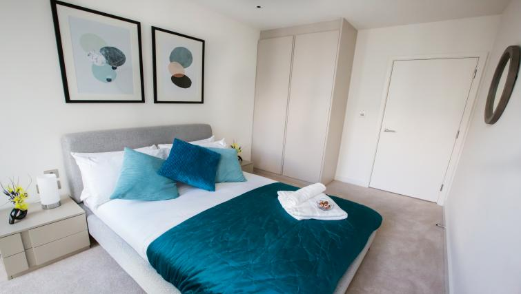 Bedroom at GIGLI Apartments Wembley - Citybase Apartments