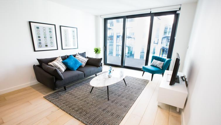 Bright living space at GIGLI Apartments Wembley - Citybase Apartments