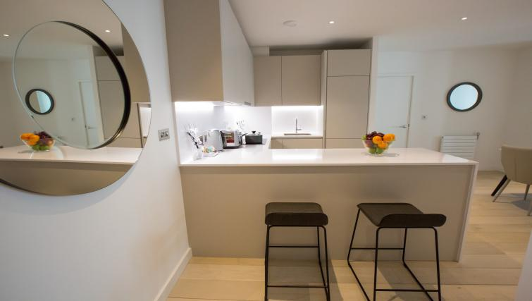 Breakfast bar at GIGLI Apartments Wembley - Citybase Apartments