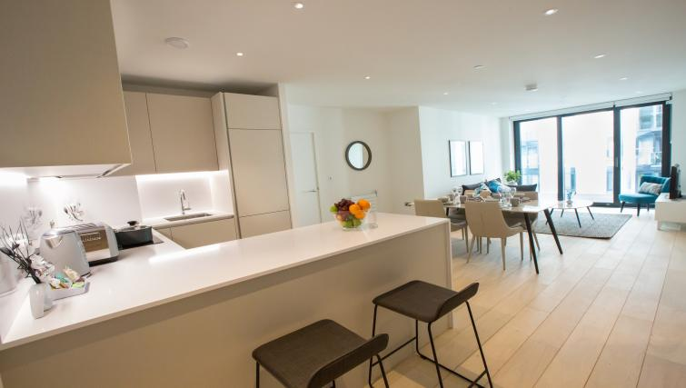 Chairs at GIGLI Apartments Wembley - Citybase Apartments