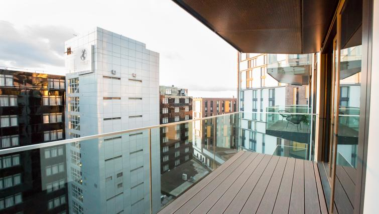 Balcony at GIGLI Apartments Wembley - Citybase Apartments