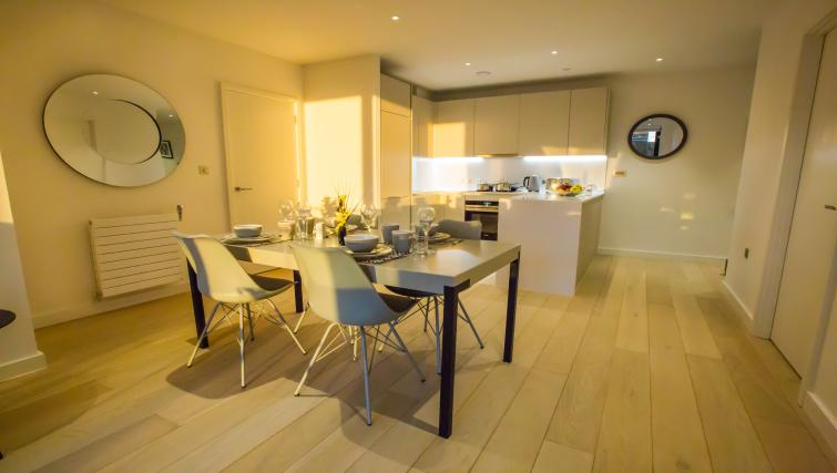 Table at GIGLI Apartments Wembley - Citybase Apartments