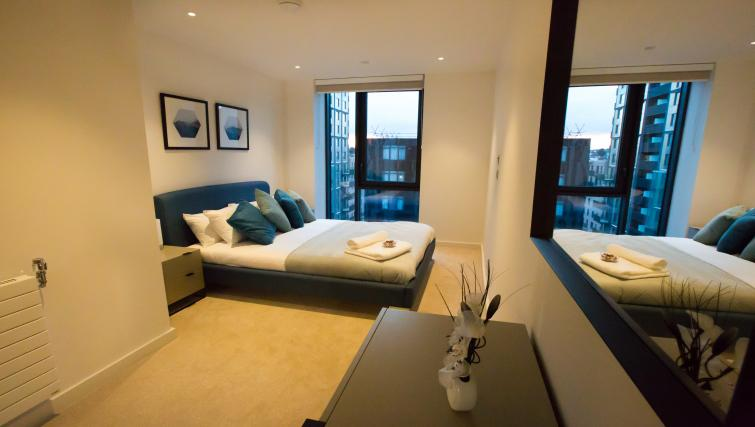 Double bedroom at GIGLI Apartments Wembley - Citybase Apartments